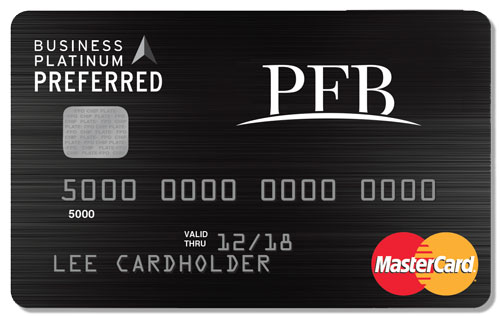 PFB Business Platinum Preferred Card